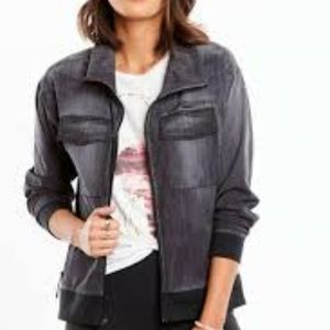"Lucy Jackets & Coats - Lucy Black Lightweight ""Indigo"" Trucker Jacket"